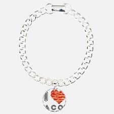 I Heart Bacon Bracelet