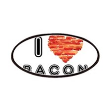 I Heart Bacon Patches