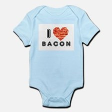 I Heart Bacon Body Suit