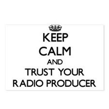Keep Calm and Trust Your Radio Producer Postcards