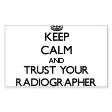 Keep Calm and Trust Your Radiographer Decal