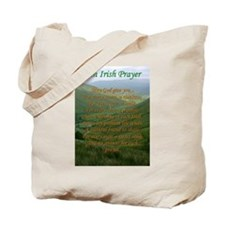 Irish Prayer Tote Bag