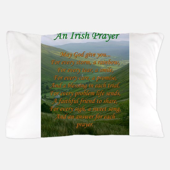 Irish Prayer Pillow Case