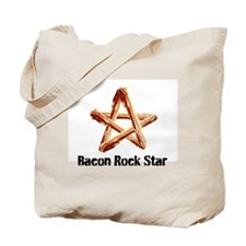 Bacon Rock Star Tote Bag