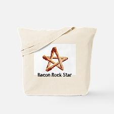 Bacon Rock Star Tote Bag