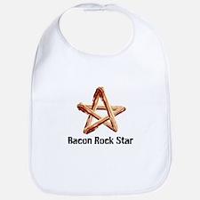 Bacon Rock Star Bib