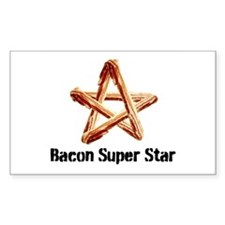Bacon Super Star Decal
