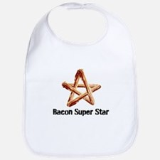 Bacon Super Star Bib
