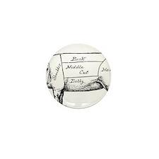 Pig Diagram Mini Button (10 pack)