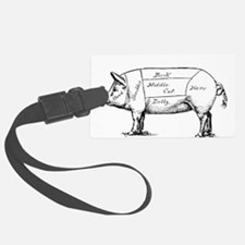 Pig Diagram Luggage Tag