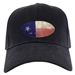Texas State Flag Black Cap