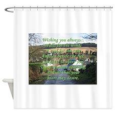 Wishing You Always Shower Curtain