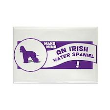 Make Mine Spaniel Rectangle Magnet (10 pack)