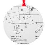 Pig Parts Ornament