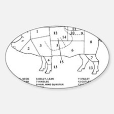 Pig Parts Decal