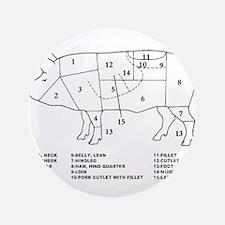 "Pig Parts 3.5"" Button (100 pack)"