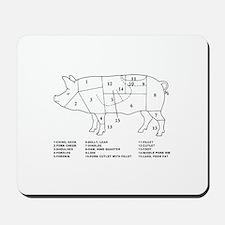 Pig Parts Mousepad