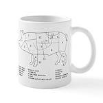 Pig Parts Mugs