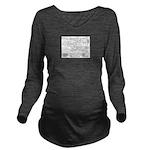 Pig Parts Long Sleeve Maternity T-Shirt