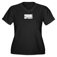 Pig Parts in Numbers Plus Size T-Shirt