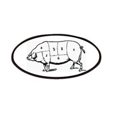 Pig Parts in Numbers Patches