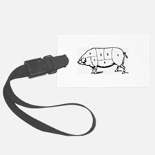 Pig Parts in Numbers Luggage Tag