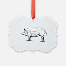 Tasty Pig Ornament
