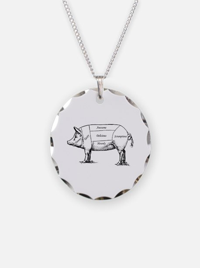 Tasty Pig Necklace