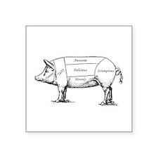 Tasty Pig Sticker