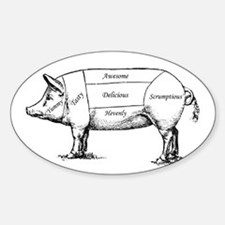 Tasty Pig Decal