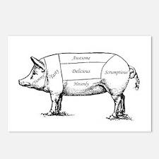 Tasty Pig Postcards (Package of 8)