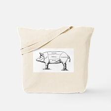 Tasty Pig Tote Bag