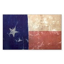Texas State Flag Rectangle Decal
