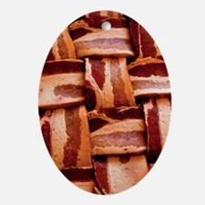 Bacon weave Ornament (Oval)