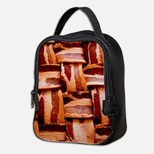 Bacon weave Neoprene Lunch Bag