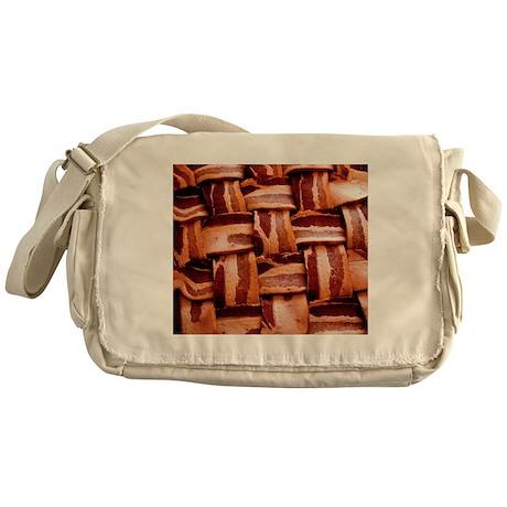 Bacon weave Messenger Bag