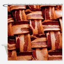 Bacon weave Shower Curtain