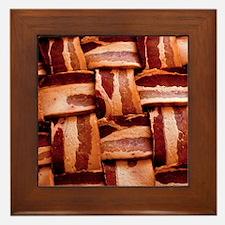 Bacon weave Framed Tile
