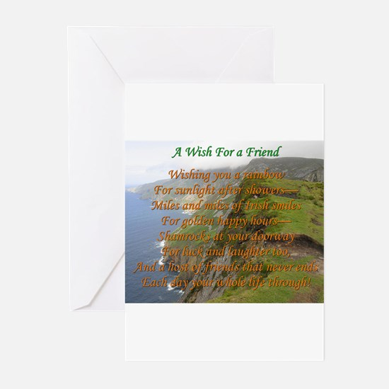 Wish For A Friend Greeting Cards