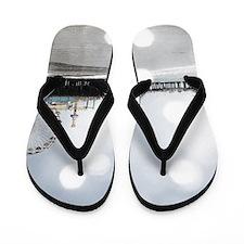 Grey Sparkling Pier Flip Flops