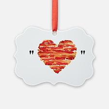 Bacon Quote Ornament