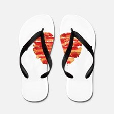 Bacon Quote Flip Flops