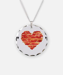 Bacon Quote Necklace