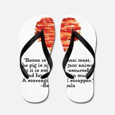 Sarah Hepola Quote about Bacon Flip Flops