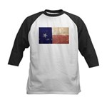 Texas State Flag Kids Baseball Jersey