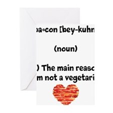 Bacon Def 2 Greeting Cards
