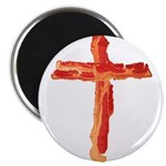 Bacon Cross Magnets