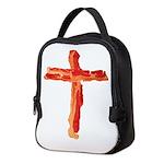 Bacon Cross Neoprene Lunch Bag