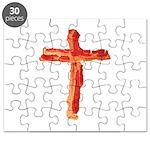 Bacon Cross Puzzle