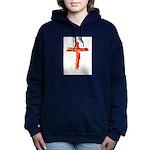 Bacon Cross Women's Hooded Sweatshirt